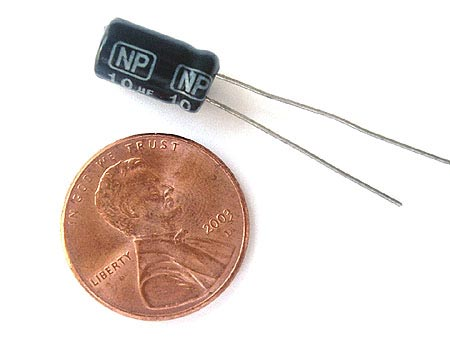10uF 50V Non Polar Radial Electrolytic Capacitors
