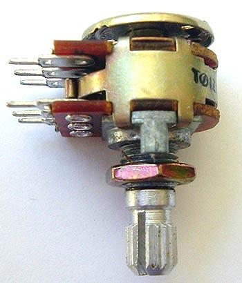 Potentiometers  10K ohm Dual Audio Balance Control