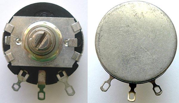 Linear Wirewound Potentiometer MILITARY 500 ohm