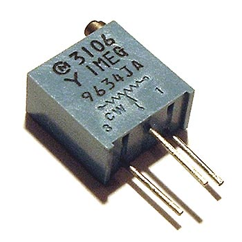 1 MEG 1M ohm Trimmer Trim Pot Variable Resistor 3106Y