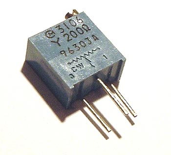 200 Ohm Trimmer Trim Pot Variable Resistor 3106y West Florida