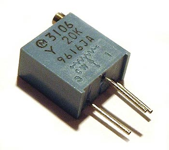 20K ohm Trimmer Trim Pot Variable Resistor 3106Y