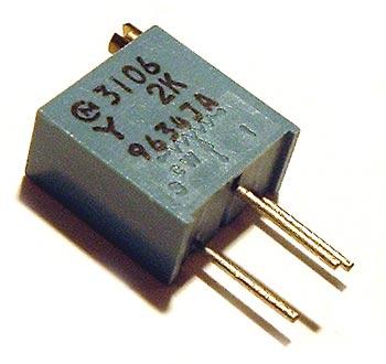 2K ohm Trimmer Trim Pot Variable Resistor 3106Y
