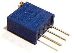 10K ohm Trimmer Trim Pot Variable Resistor 3296