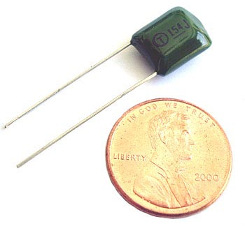 0.15uF .15uF 63V 5% Radial Film Capacitors