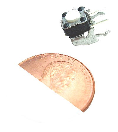 Momentary Push Button Switches  5mm 15V 20mA