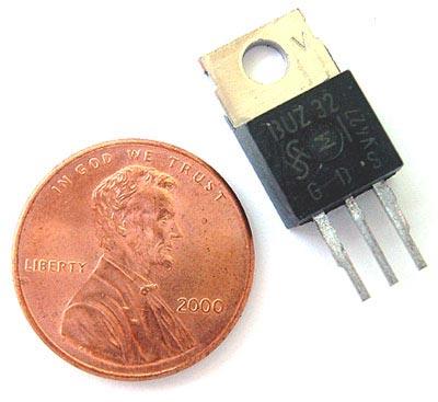 BUZ32 10 Amp 200V Power MOSFET Transistor