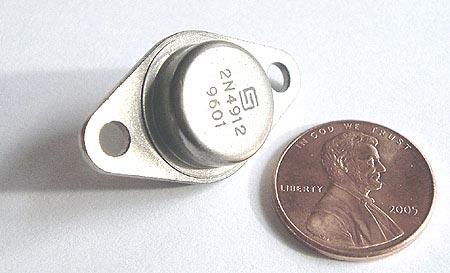 2N4912  1A 1 Amp 80V NPN Transistor