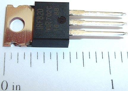 IRF820 MosFET Mos FET Transistor NPN 50W 500V 2.5A