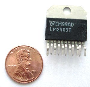 LM2403T LM2403 T   IC Monolithic CRT Driver