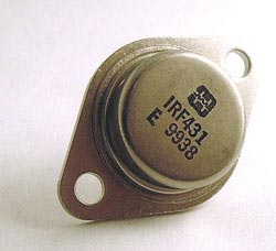 IRF431 Mos FET 4.5A 450V TO3 Harris N-Channel MosFET