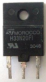 Power Mos Transistor ST Micro STH33N20FI STH33N20 FI