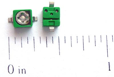 6.5pF - 30pF Surface Mount Trimmer Capacitor Caps